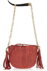 Yemaja small leather shoulder bag