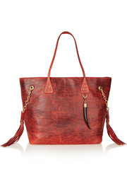 Mawu leather tote