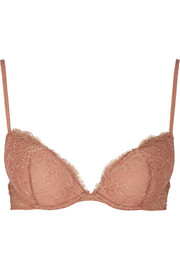 La Perla Tearose lace push-up bra
