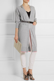 Sonia by Sonia Rykiel Cutout wool cardigan