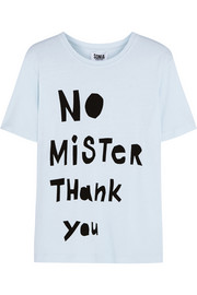 No Mister Thank You cotton-blend T-shirt