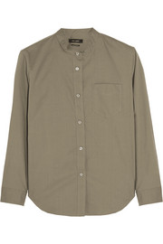 Wayne cotton-poplin shirt