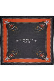 Givenchy Square scarf 120cm x 120cm Rottweiler