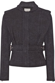 Oleg cotton-jacquard jacket