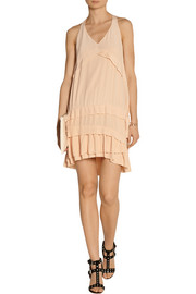 IRO Dastaly washed-silk mini dress