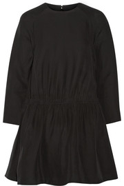 Carven Silk-blend cady mini dress