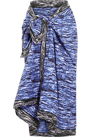 Proenza Schouler Tie-dyed cotton-voile sarong