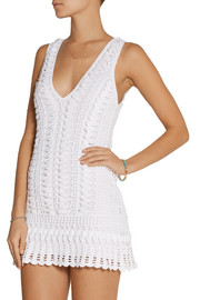 Melissa Odabash Alexis crocheted dress