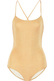 Caribe metallic swimsuit