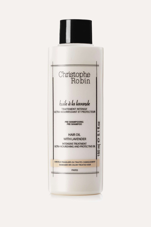 Christophe Robin Moisturizing Hair Oil With Lavender, 150ml