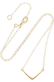 14-karat gold necklace