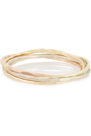 Melissa Joy Manning 14-karat gold interlocking ring