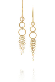 Melissa Joy Manning 14-karat gold drop earrings