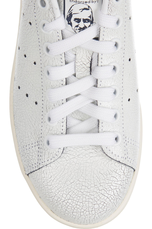 adidas Originals Baskets en cuir craquelé Stan Smith