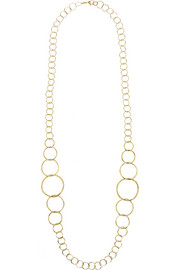 Ippolita 18-karat gold necklace