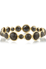 Ippolita Rock Candy Mini Lollipop 18-karat gold quartz bracelet