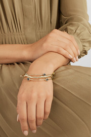 Ippolita Rock Candy 18-karat gold quartz bangle