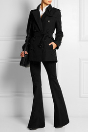 Burberry London The Kensington Short cotton-gabardine trench coat