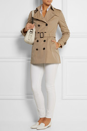 The Sandringham Short cotton-gabardine trench coat