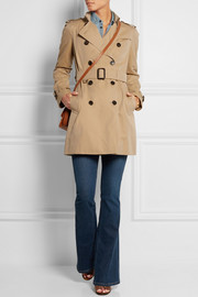 Burberry London The Westminster Mid cotton-gabardine trench coat