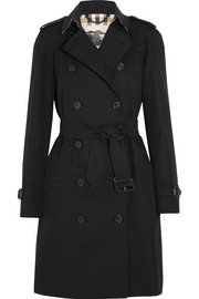 Burberry London The Westminster Long cotton-gabardine trench coat