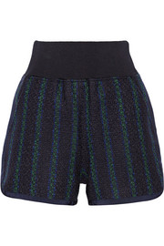 Sacai Luck tweed shorts