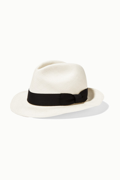 Sensi Studio. Classic toquilla straw Panama hat 80260e79f98