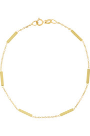 Jennifer Meyer 18-karat gold bar bracelet