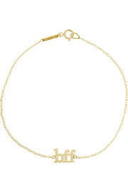 Jennifer Meyer BFF 18-karat gold bracelet