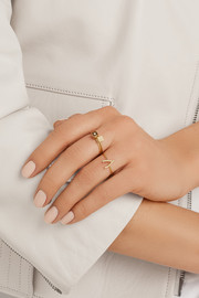 Jennifer Meyer 18-karat gold diamond ring