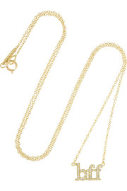 Jennifer Meyer BFF 18-karat gold diamond necklace