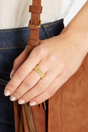 Jennifer Meyer Set of three 18-karat gold ball rings