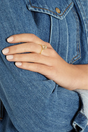 Jennifer Meyer 18-karat gold diamond circle ring