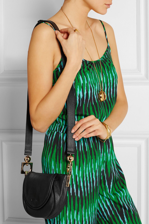 See By Chloé Sac porté épaule en cuir texturé Lena Small
