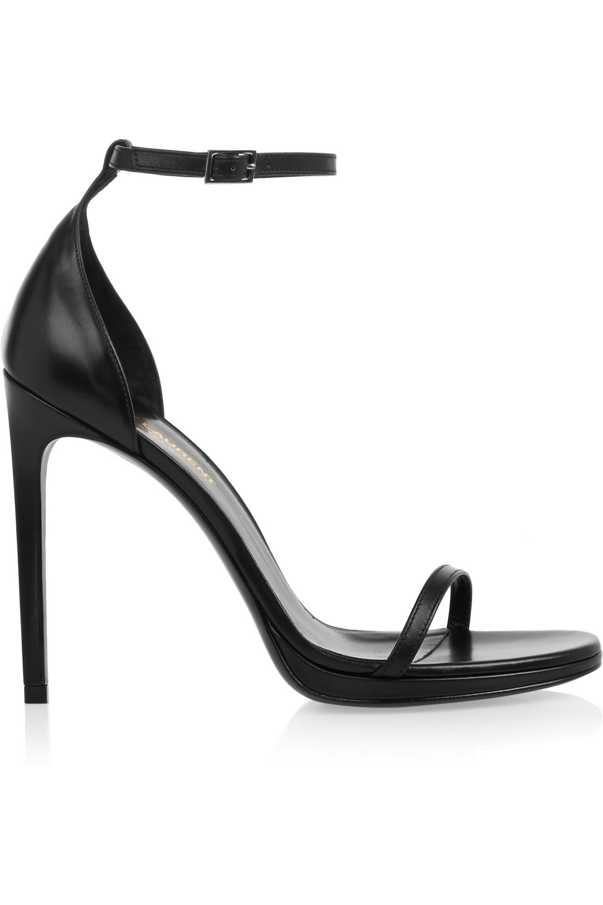 SAINT LAURENT Jane leather sandals