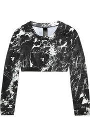 Printed rash guard