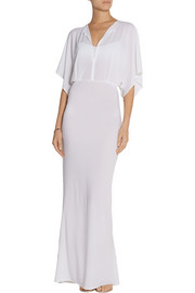 Norma Kamali Obie stretch-jersey dress