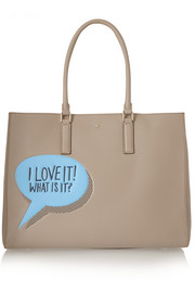 Ebury Maxi textured-leather tote