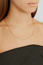 Ana Khouri 18-karat gold diamond necklace
