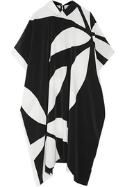 May Jean printed silk crepe de chine dress