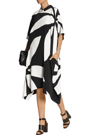 Issa May Jean printed silk crepe de chine dress