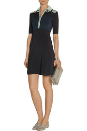 Issa Lilian color-block stretch-jersey dress