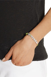 Finds Selfie ceramic and gunmetal-plated bracelet