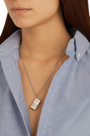 Finds + Venessa Arizaga Coco Frio silver-plated necklace