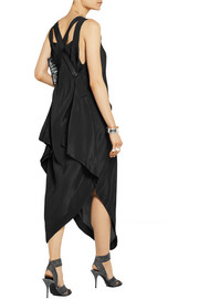 Vivienne Westwood Anglomania Revival asymmetric satin-crepe dress