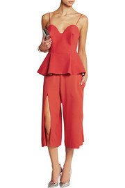 Chalayan Gaucho split-front crepe culottes