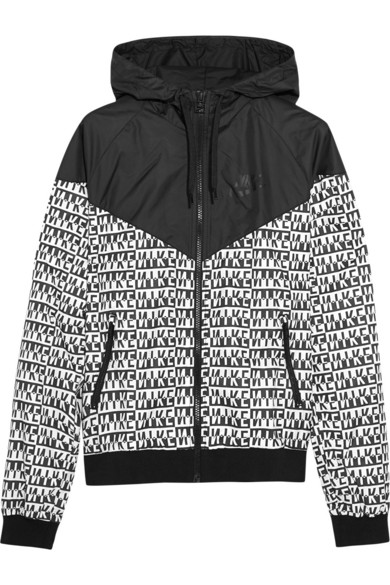 sports shoes 8812a 16933 Nike. Windrunner printed shell hooded jacket