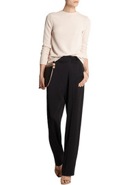 Esteban Cortazar Cutout stretch-knit top