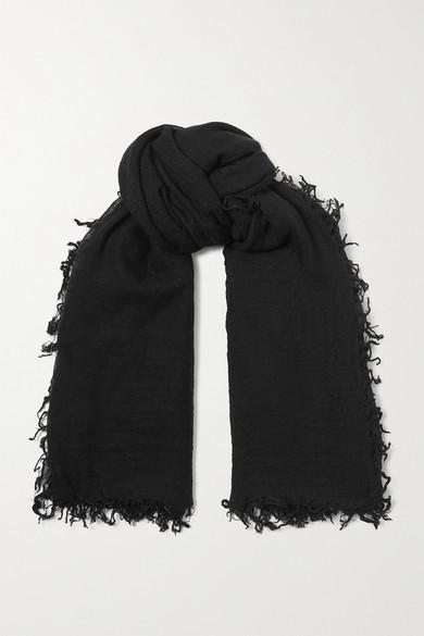 Chan LuuChan Luu - Cashmere And Silk-blend Scarf - Black