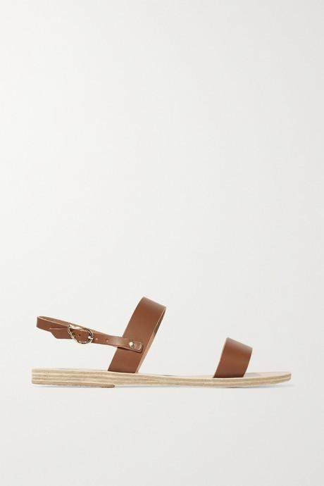 Brown Clio leather sandals   Ancient Greek Sandals WNZ69X